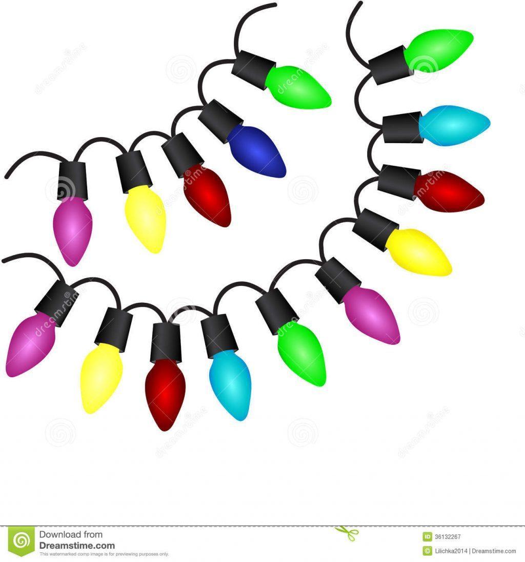 1024x1095 Christmas Light Bulbs Clipart Free