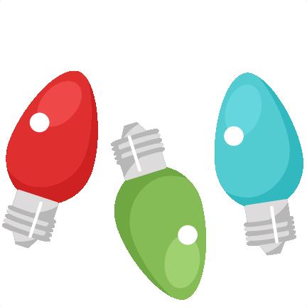 432x432 christmas light bulb clip art