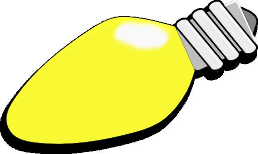 512x306 Christmas Light Bulb Clip Art Halloween Amp Holidays Wizard