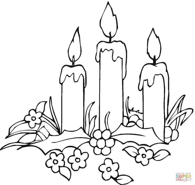 Christmas Light Bulb Coloring Page   Free download best Christmas ...