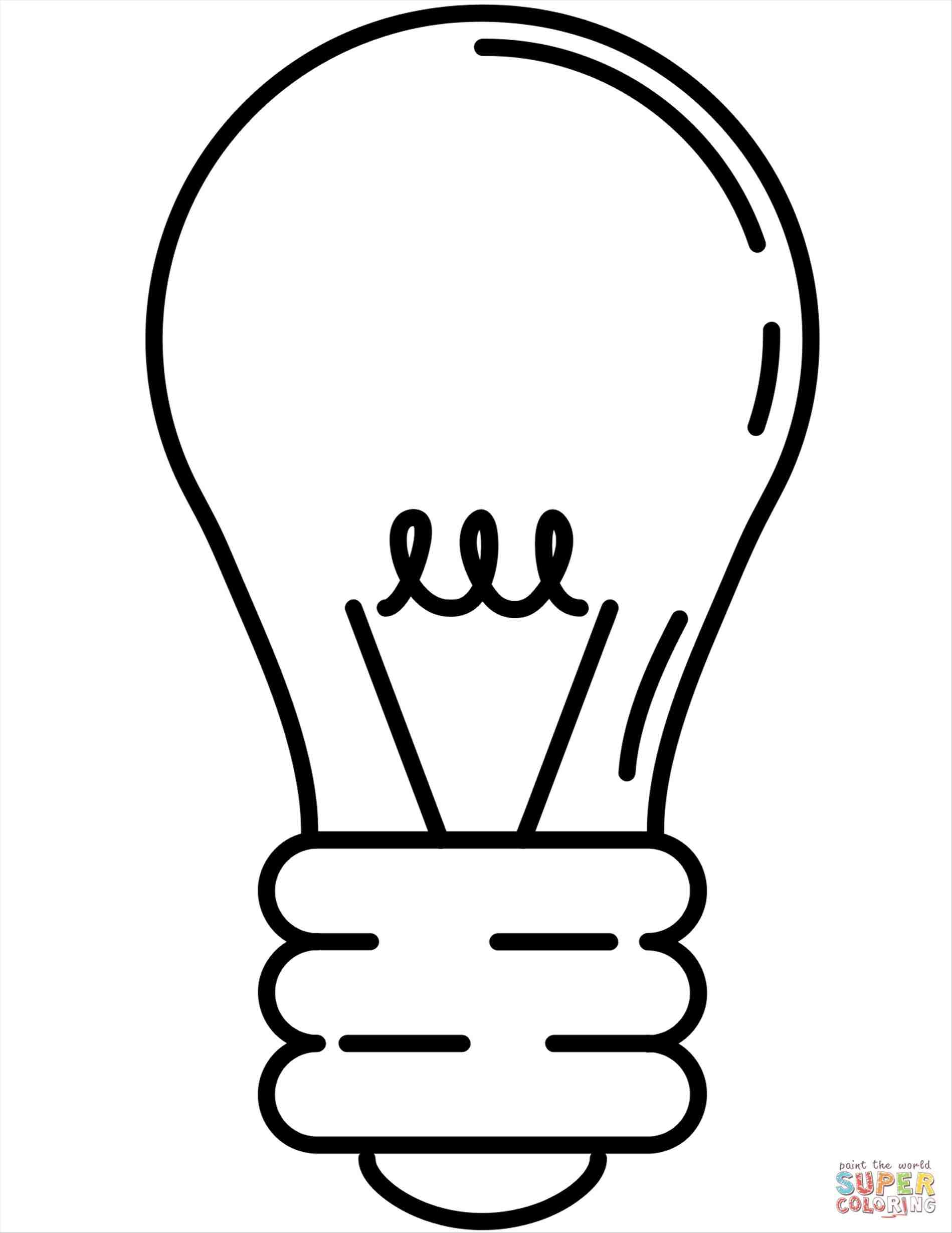 Christmas Light Bulb Coloring Page | Free download best Christmas ...