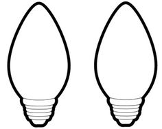image regarding Christmas Bulb Template Printable identify Xmas Light-weight Bulb Coloring Site No cost obtain suitable
