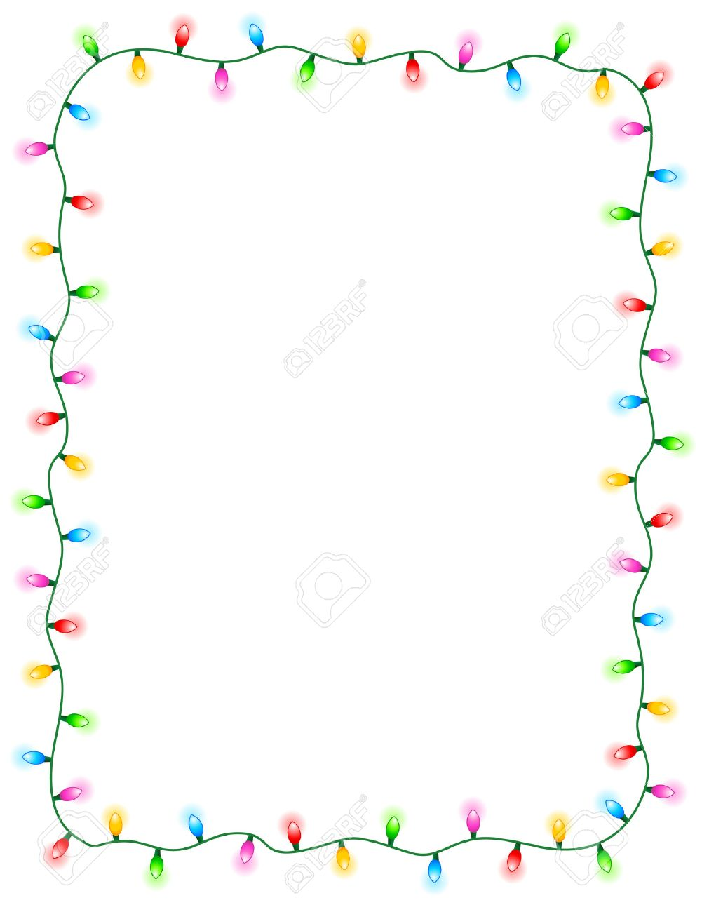 1011x1300 Christmas ~ Fabulous Christmas Light Border Picture Inspirations