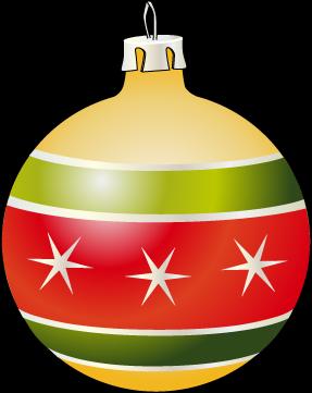 287x361 Christmas Bulb Clipart