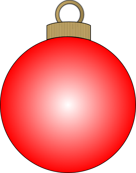 468x593 Christmas Bulbs Clipart