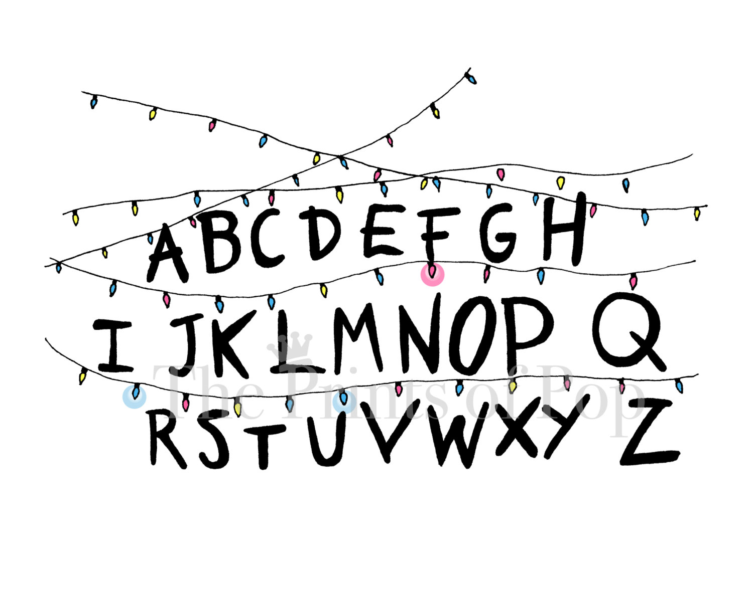 Stranger Things Christmas Lights Png.Christmas Lights Drawing Free Download Best Christmas