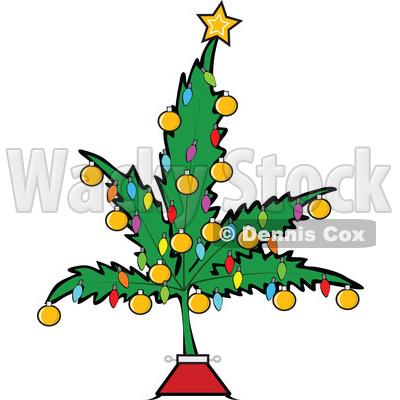 400x400 Christmas Tree Clipart Leaves