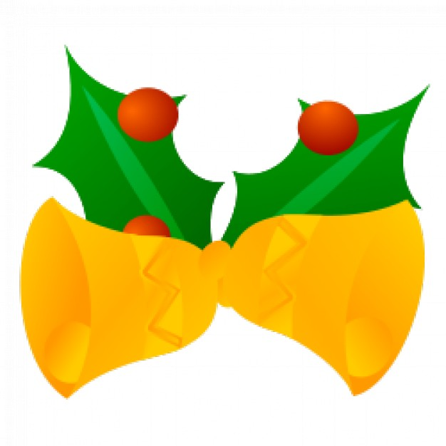 626x626 Jingle Bells Vector Clipart Vector Free Download