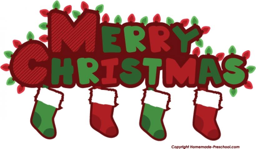 820x477 Merry Christmas Clip Art Words Clipart Panda Free Clipart