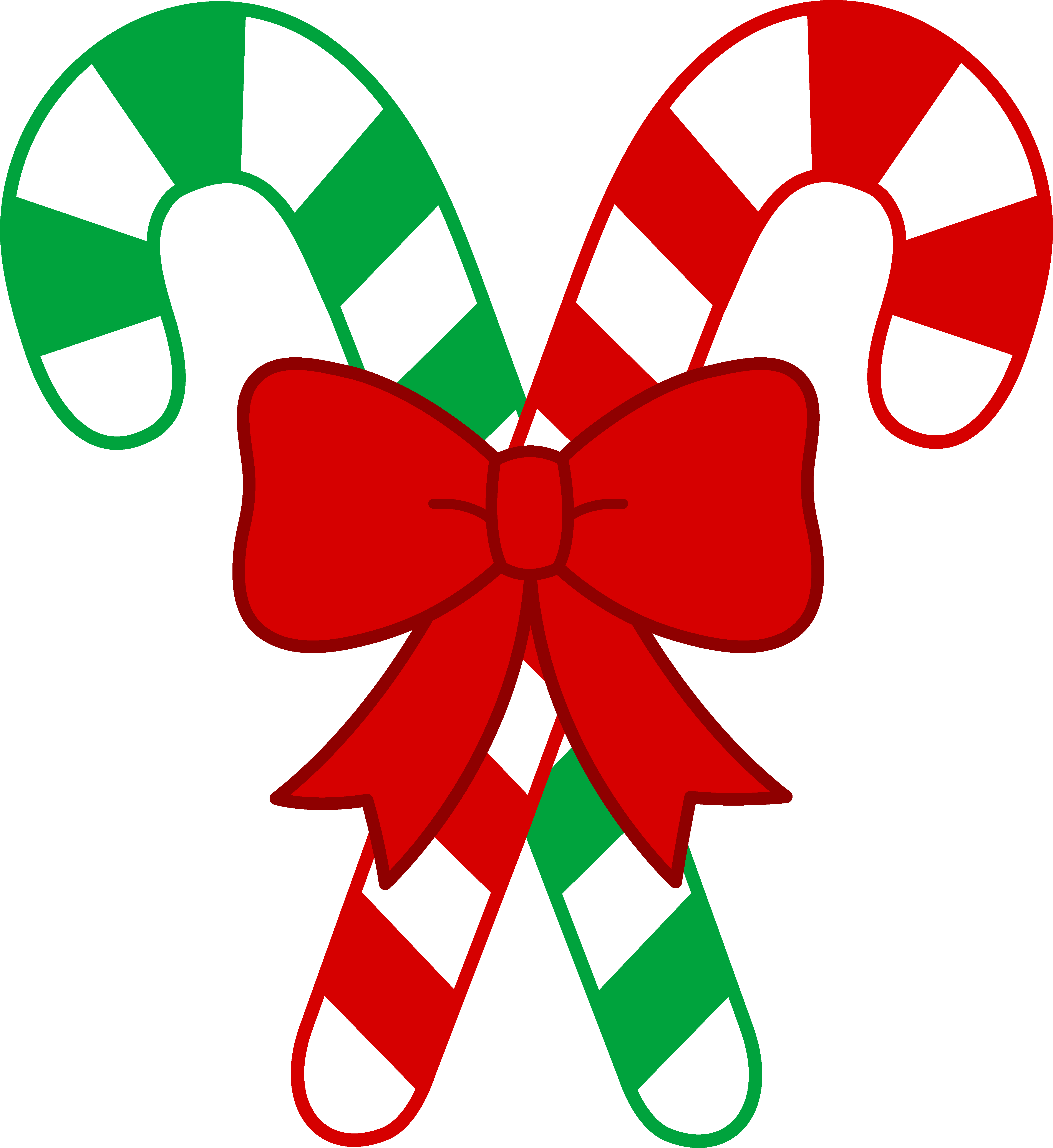 4847x5284 Christmas Candy Canes With Bow