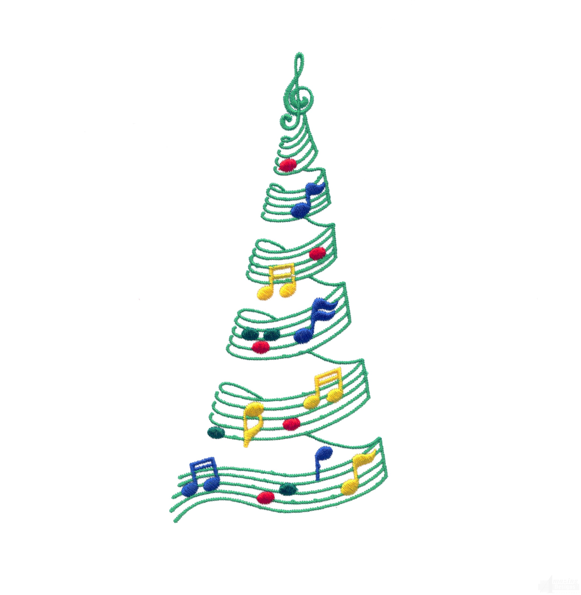 Christmas Music Notes   Free download on ClipArtMag