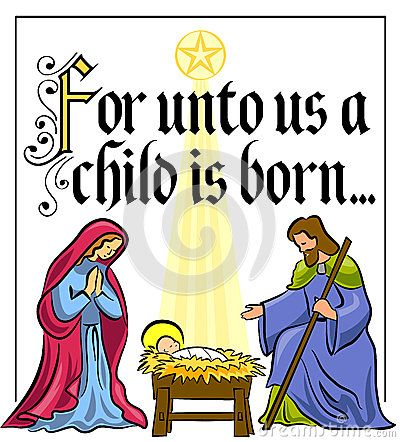 Christmas Nativity Scene Clipart