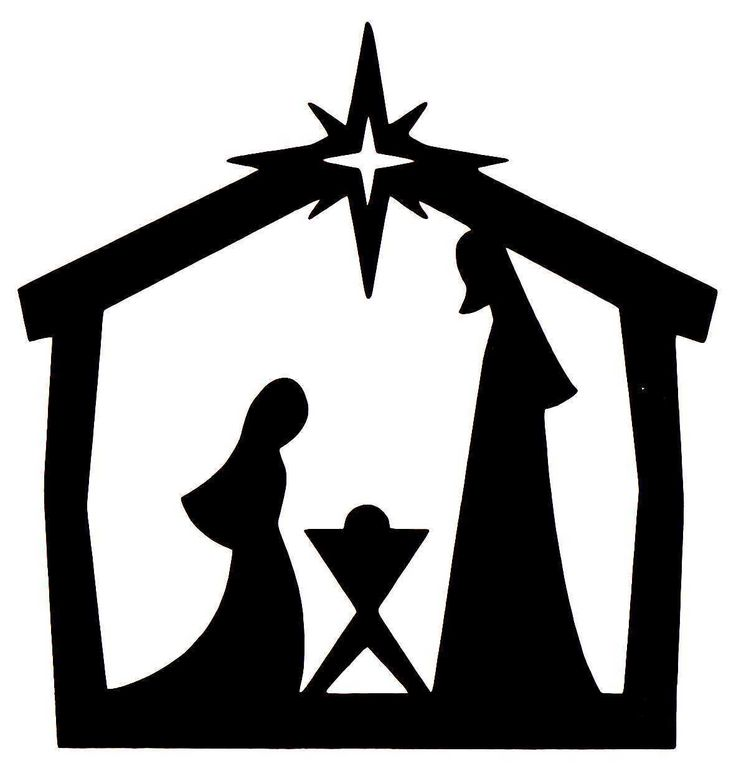Christmas Nativity Scene Clipart | Free download on ClipArtMag