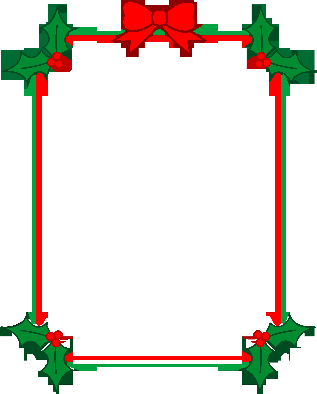 4822x6000 Free Christmas Borders Clip Art