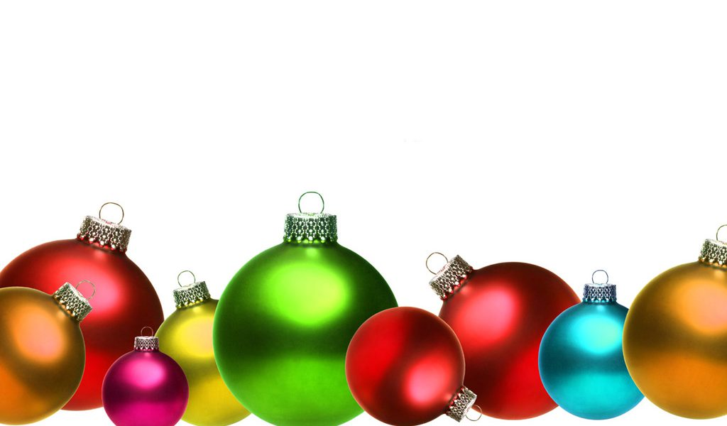 1024x600 Christmas Ornaments Clipart Free