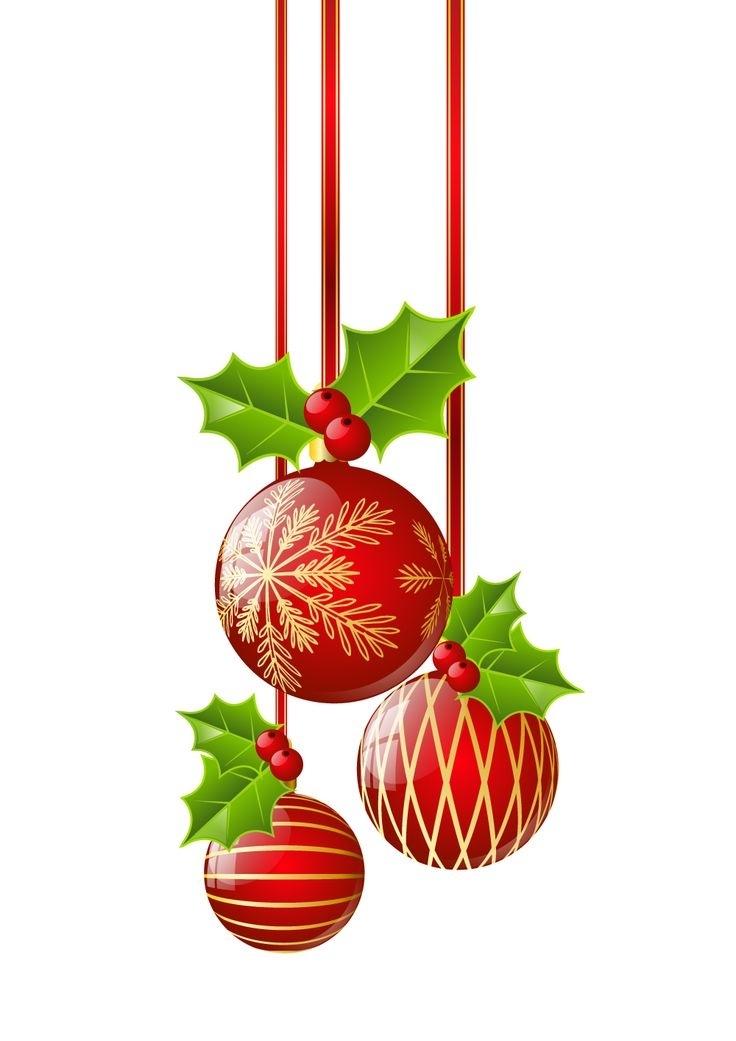 736x1041 Christmas Ornament Border Clip Art