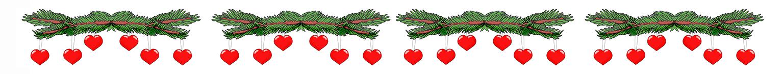 1535x145 Christmas Clip Art Borders