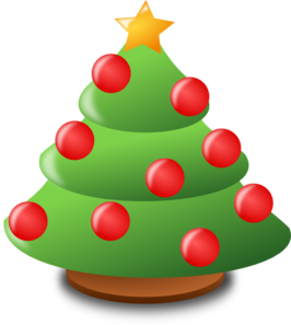 266x297 Christmas Ornaments Clipart Cartoon
