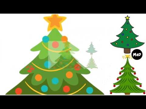 480x360 Christmas Tree Clip Art
