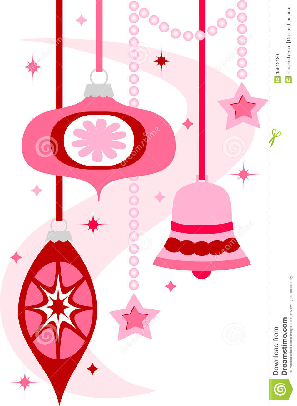951x1300 Vintage Christmas Ornament Clipart