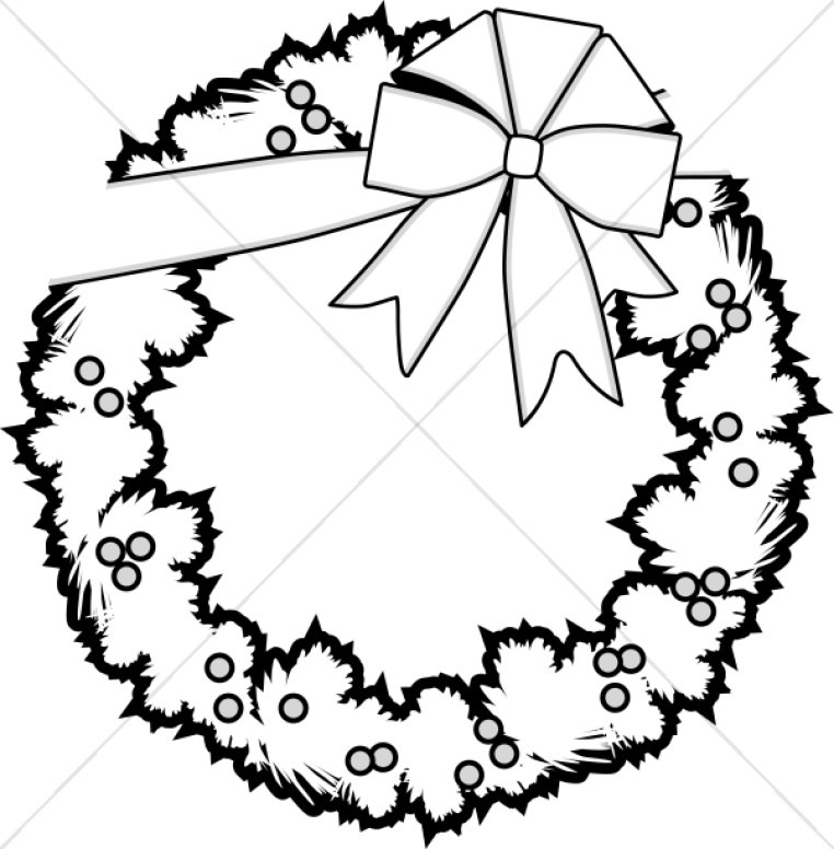 762x776 Christmas Ornament Clipart Black And White