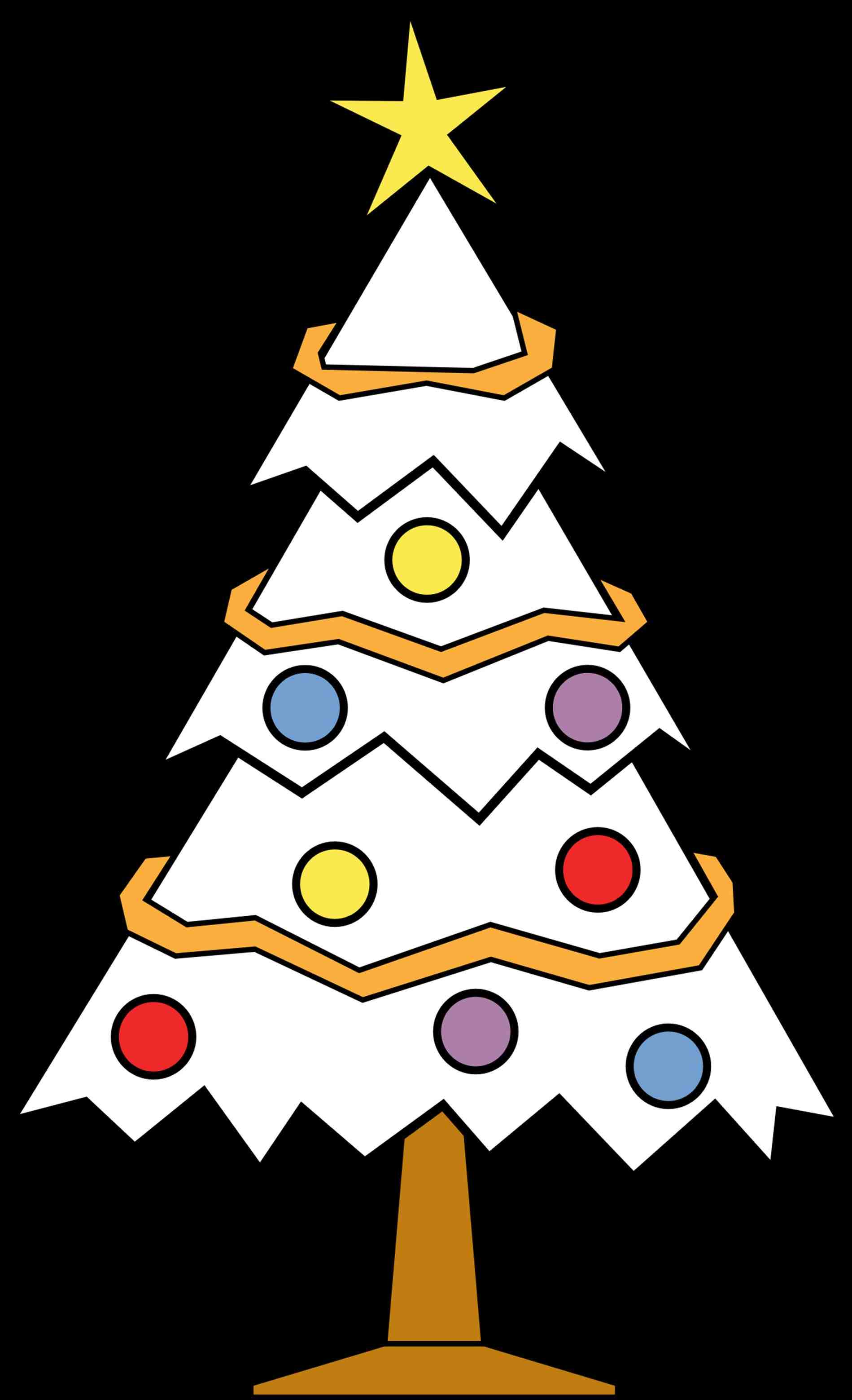 1899x3117 Christmas Ornament Clipart Free Black And White Cheminee.website