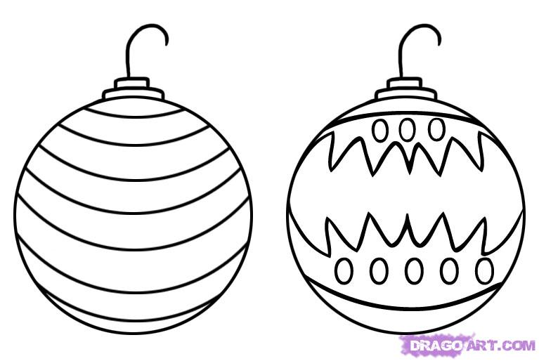 767x514 astonishing decoration christmas ornaments to color ornament