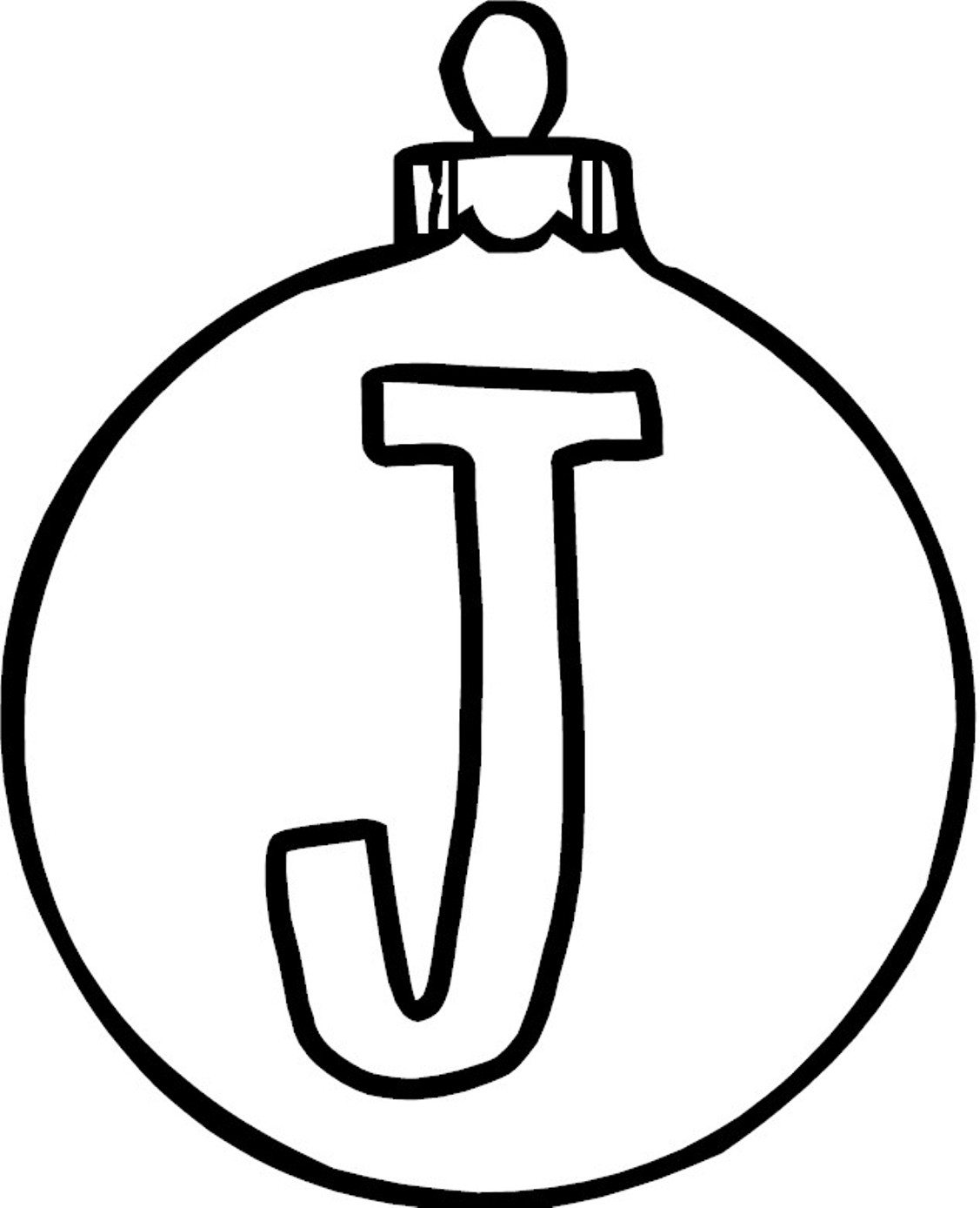 1127x1388 Ornament J Alphabet Coloring Page Alphabet Coloring Pages