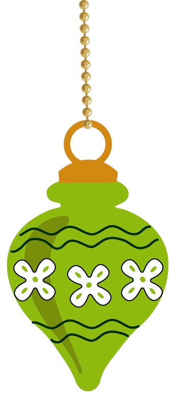 Christmas Ornament Images Clipart
