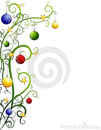 350x450 Christmas Ornaments clipart abstract