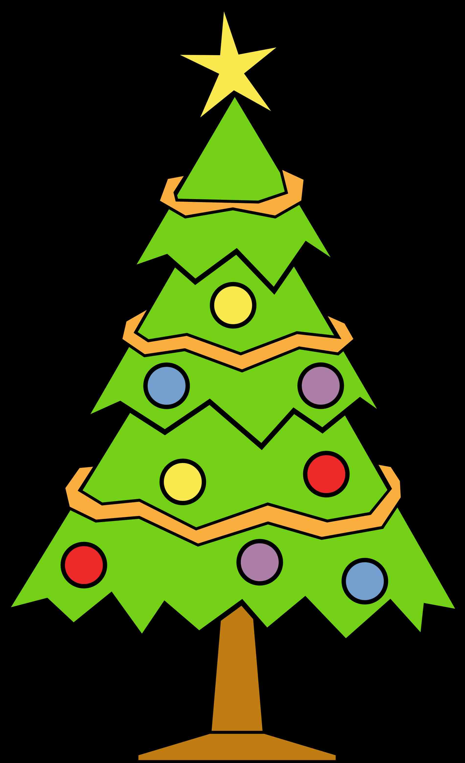 1900x3117 Colorful Christmas Ornaments Clip Art Cheminee.website