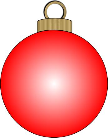 346x441 Christmas Ornament Clip Art