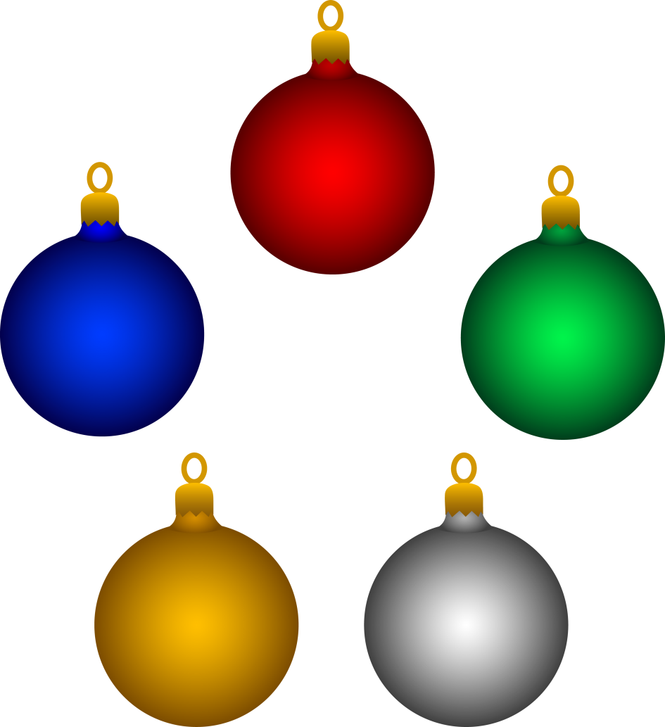 945x1033 Christmas Ornaments. Clipart Christmas Ornaments Christmas Bulbs