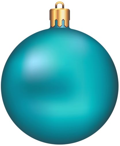 417x510 Christmas Ornaments Clipart