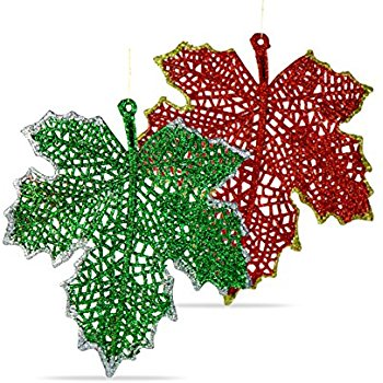 350x350 Butterfly Ornaments, Shatterproof Christmas Tree