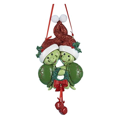 500x500 Turtle Couple Christmas Ornament By Kurt Adler Home