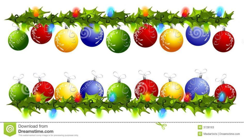 945x538 Christmas Decorations Clipart Borders Free
