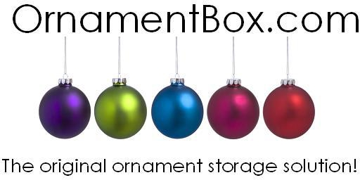 512x256 Christmas Ornament Storage Box Amp Organizer For Sale