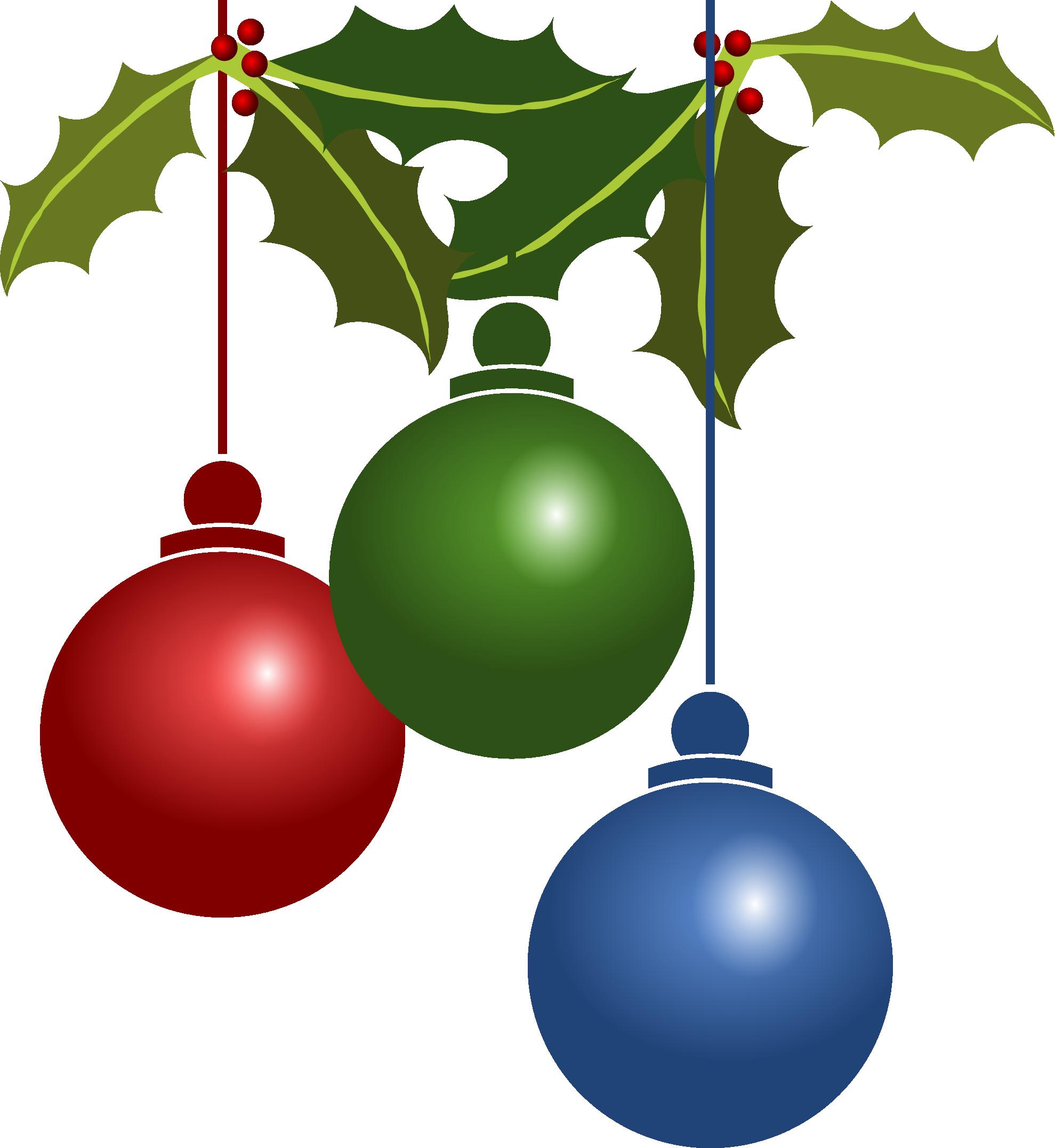 1979x2152 Christmas Ornaments Clipart