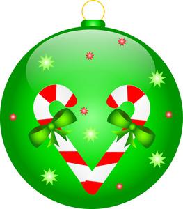 263x300 Christmas Ornaments Clipart