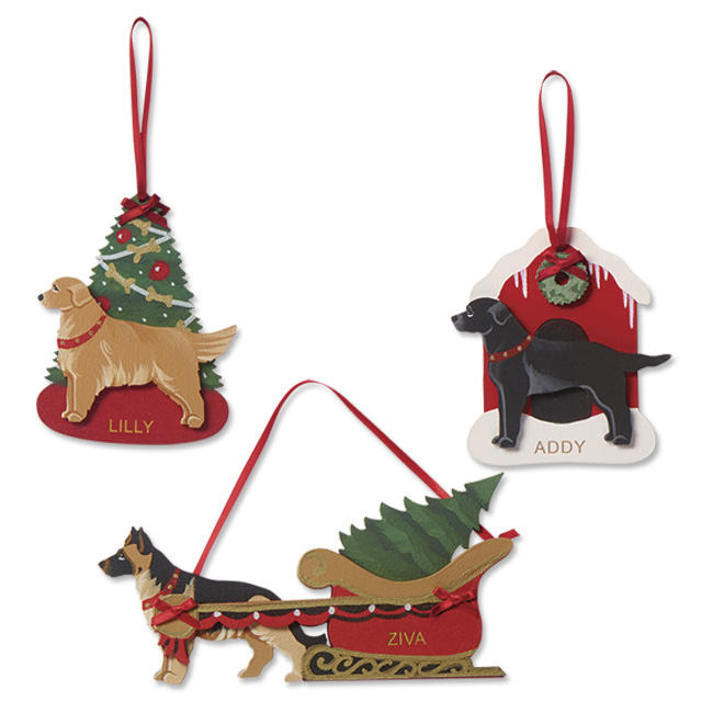 650x650 Dog Christmas Decorations Dog Breed Christmas Ornaments