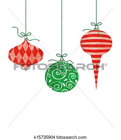 406x470 Hanging Christmas Ornaments Clipart Happy Holidays