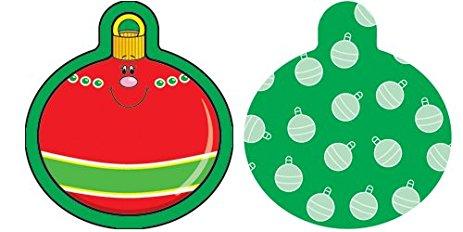 463x232 Carson Dellosa Christmas Ornaments Cut Outs (120029