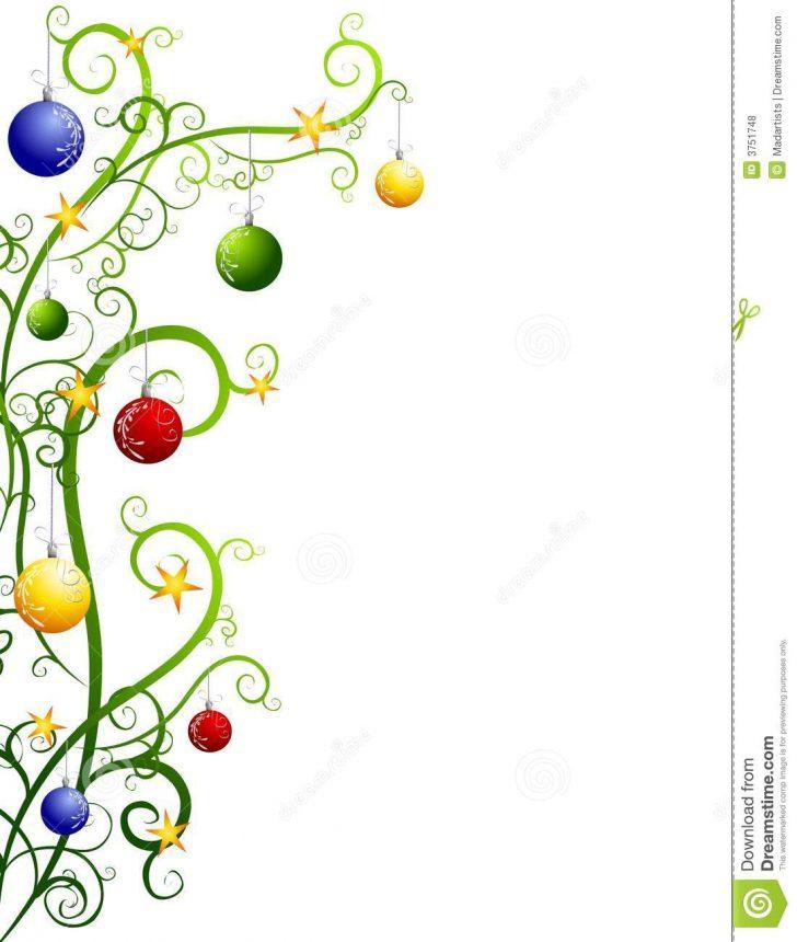 728x860 Christmas ~ Christmas Borders Free Printable Landscape Clip Art