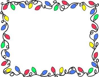 350x270 Word Document Christmas Borders – Halloween amp Holidays Wizard
