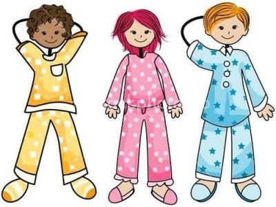 400x300 Funny Pajama Clipart