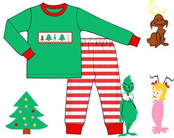 340x270 Grinch Pajamas Etsy