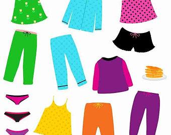 340x270 Pajamas Clipart Etsy