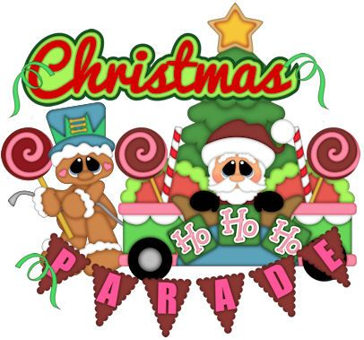 Christmas Parade Clipart
