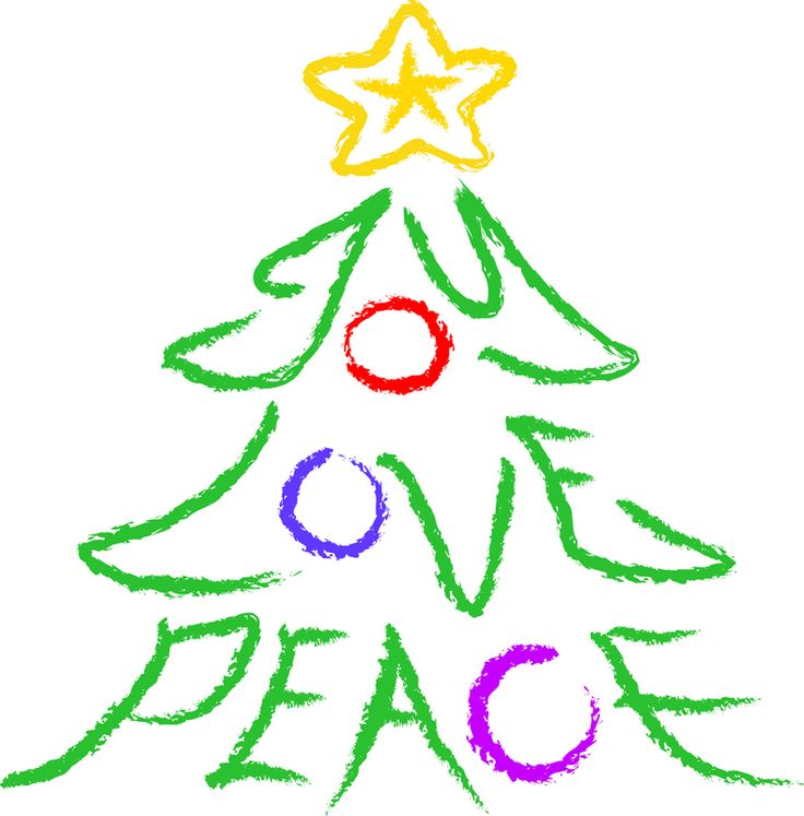 Christmas Peace Sign